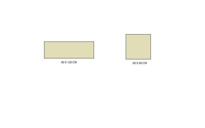 Formats carrelage série Aequa