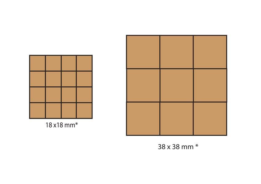 formats carrelage série Oxide