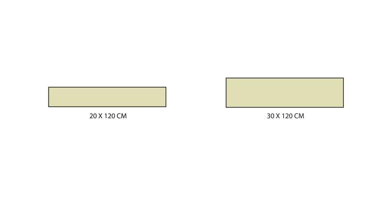 Formats carrelage série Rustic