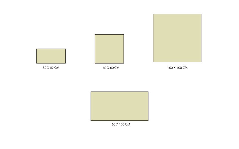 Formats carrelage série Slate stones