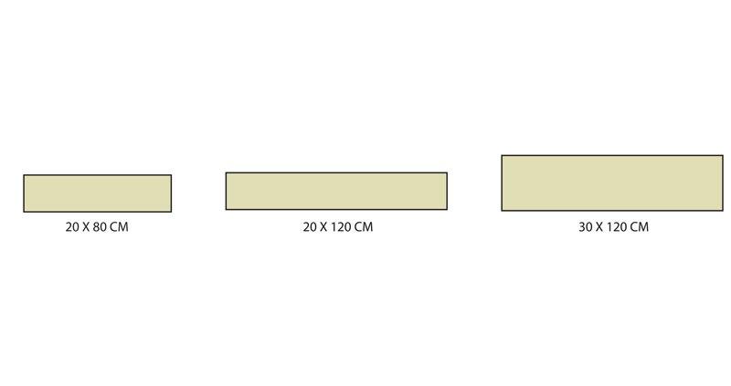 Formats carrelage série Suite concept