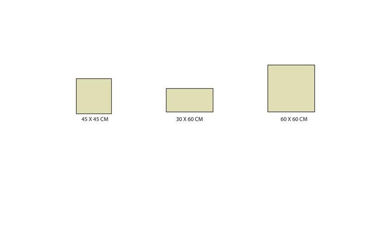 Formats carrelage série Matiere