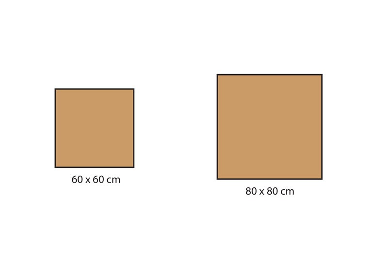 Formats carrelage série Materia