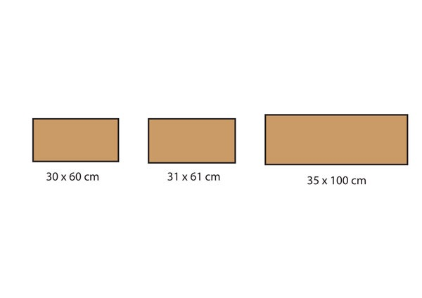 Formats carrelage série Core