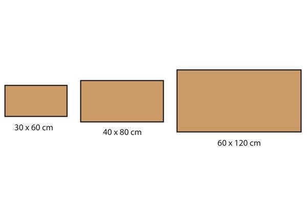 Formats carrelage série Deck
